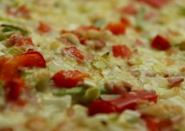 Pizza bacalao